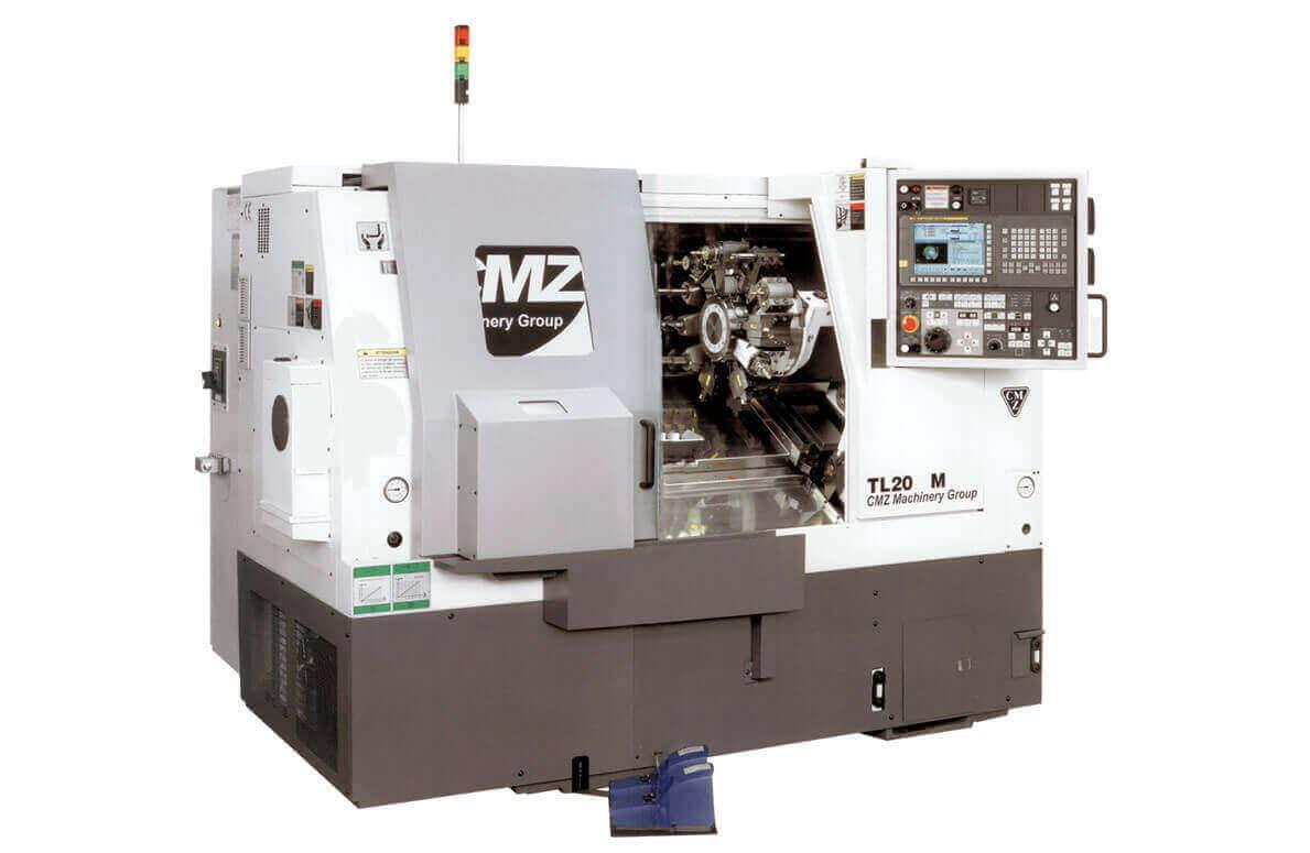 TORNIO CNC CMZ TL20 M - centri di lavoro verticali